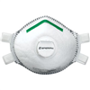 Disposable Respirator P100 Full Face Seal, Adjustable Straps and Valve