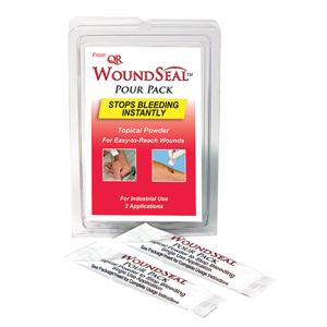 WoundSeal Blood Clot Powder Pour Packs, 2/Pkg