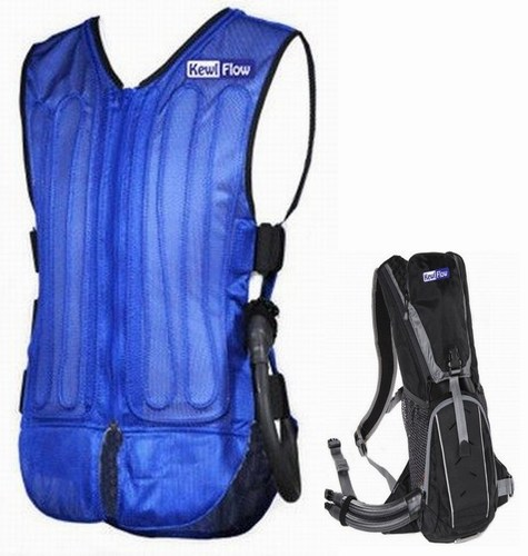 Kewlflow Circulatory Cooling System Back Pack Style - Click Image to Close