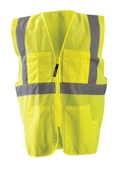 OccuLux Economy Mesh Surveyors Vest Class 2 - Click Image to Close