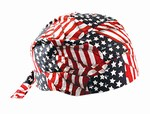 Tuff Nougies Deluxe Tie Hat w/Elastic Rear Band