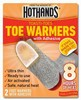 Toasti Toes Self Adhesive Toe Warmers Bulk Case 240 pair FREE SHIPPING